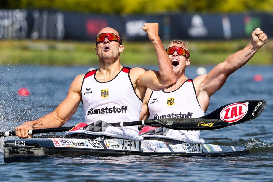 Germany Max Hoff Marcus Gross K2 1000 Montemor 2018