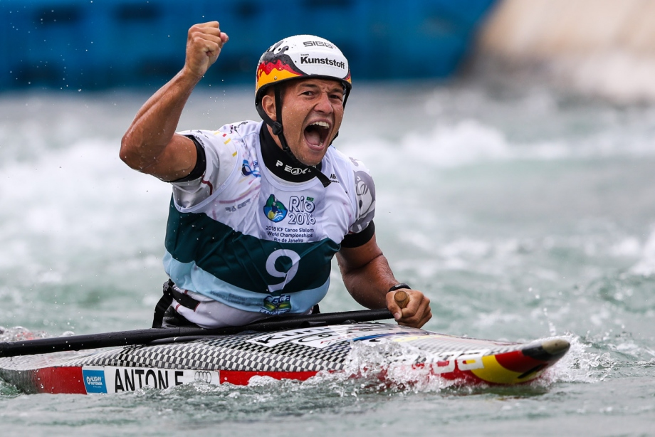 Germany Franz Anton C1 gold Rio World Championships 2018