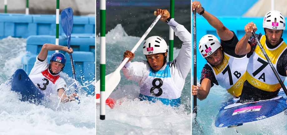 Canoe Slalom K1, C1 and C2 boats