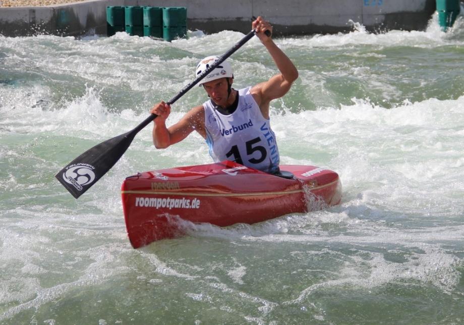 Wildwater canoeing Vienna